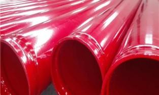 沧州内外涂布乙烯基树脂钢管涂料施工技术